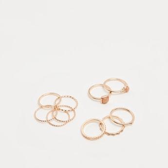 Set of 10 - Assorted Finger Ring Set