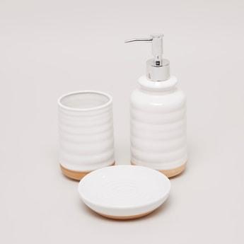 Decorative 3-Piece Bath Accessory Set