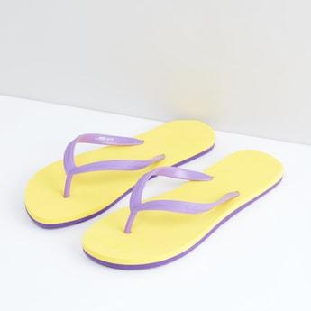 Dual Toned Flip Flops