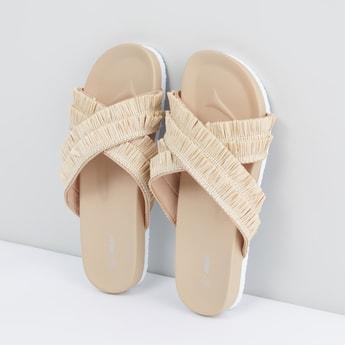 Fringe Detail Sandals