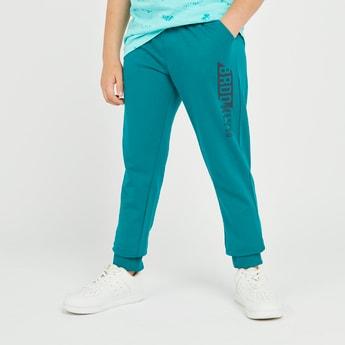 Printed Jog Pants with Pocket Detail