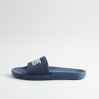 Embossed Slide Slippers