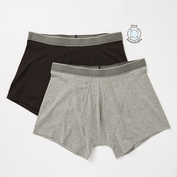 Set of 2 - Boxers with Elasticated Waist