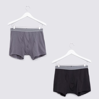 Set of 2 - Solid Coloured Boxers