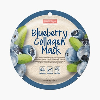 Purederm Blueberry Collagen Mask