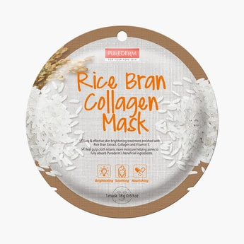 Purederm Rice Bran Collagen Mask