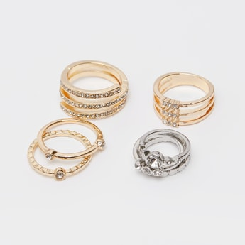 Set of 7 - Assorted Finger Rings