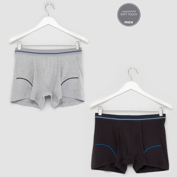 Set of 2 Stretch Hipster Trunks