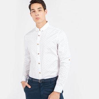 Printed Shirt with Long Sleeves