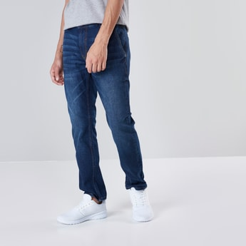 Comfort Fit Chino Denim with Button Closure