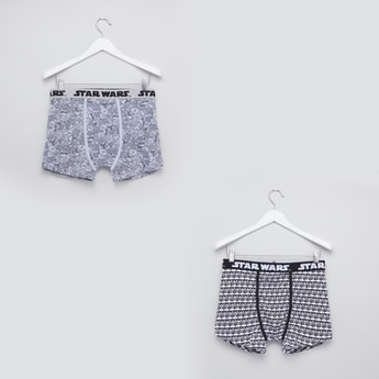 Set of 2 - Star Wars Printed Trunks with Wide Elasticised Waistband