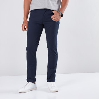 Chinos in Skinny Fit with Pocket Detail