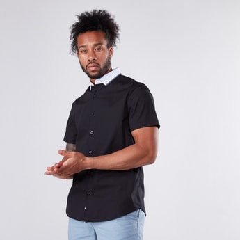 Short Sleeves Shirt in Regular Fit