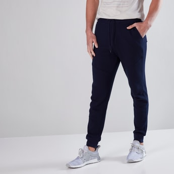 Full Length Jog Pants in Slim Fit with Pocket Detail