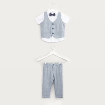 Chequered 3-Piece Apparel Set