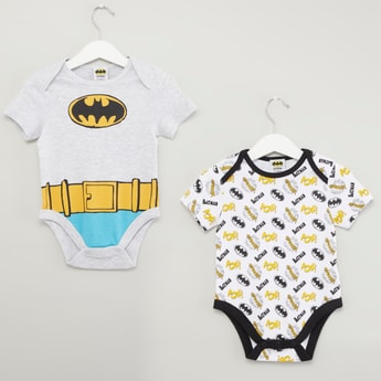 Set of 2 - Batman Printed Bodysuit