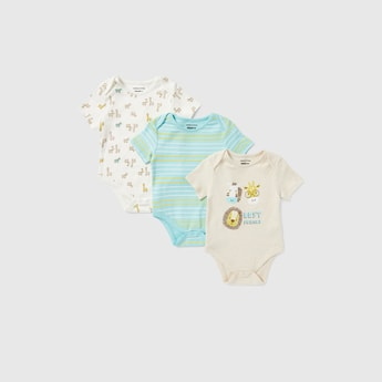 Set of 3 - Printed Assorted Bodysuits