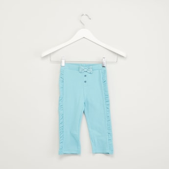 Knit Trousers with Elasticated Waistband