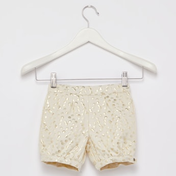 Print Shorts with Elasticised Waistband