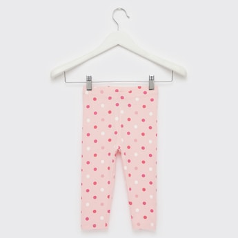 Polka Dots Print Leggings