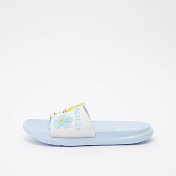 حذاء خفيف بأشرطة مع طبعات سندريلا