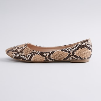 Animal Printed Ballerina Shoes