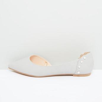 Embellished Pointed Toe Shoes