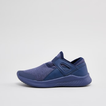 Panelled Slip On Sports Shoes