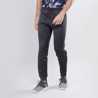Slim Fit Joggers with Drawstring Waist and Pocket Detail