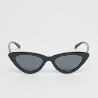 Plastic Full Rim Cat Eye Sunglasses