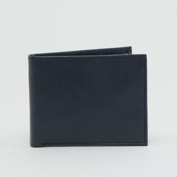 Plain Bi-Fold Wallet with Multiple Cardholders