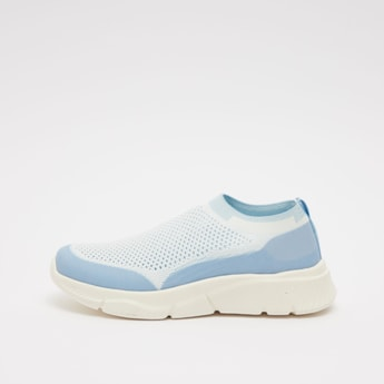 Textured Slip On Low Top  Shoes