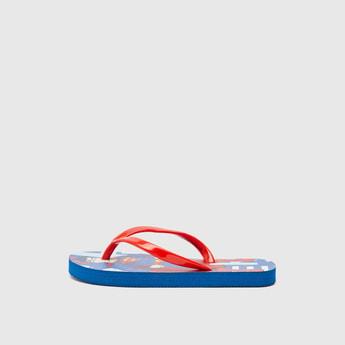 Superman Print Flip-Flops
