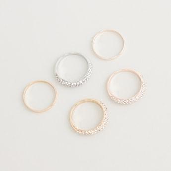 Set of 6 - Assorted Finger Rings