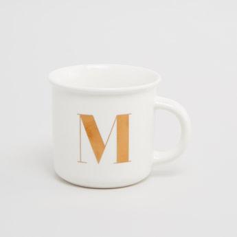 M Printed Mug