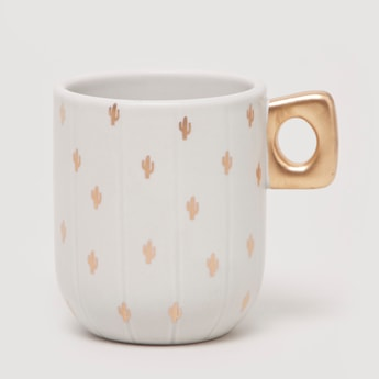 Printed Mug with Keyhole Handle