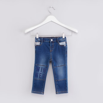 Denim Trouser with Stitch Detail