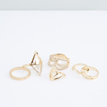 Assorted Finger Ring - Set of 6