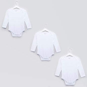Set of 3 - Solid Bodysuits