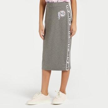 Lola Bunny Print Active Midi Pencil Skirt