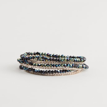 Set of 6 - Embellished Bracelet