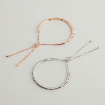 Set of 2 - Drawstring Bracelets