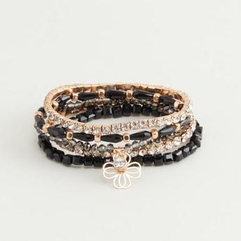 Set of 5 - Embellished Bracelet