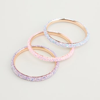 Set of 3 - Embellished Bangles