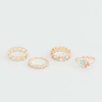 Set of 4 - Assorted Ring Set