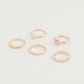 Set of 5 - Assorted Finger Rings
