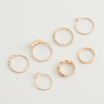 Set of 7 - Assorted Finger Ring Set