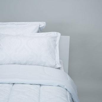 Textured 3-Piece King Comforter Set - 220x230 cms