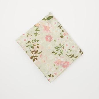 Floral Print Rectangular Scarf