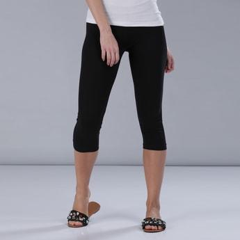 3/4 Length Leggings with Elasticised Waistband
